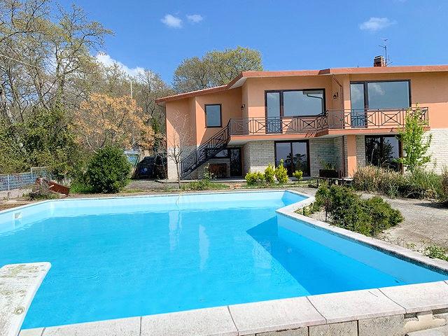 1003-Villa bifamiliare con piscina e vista lago-Bolsena-1 Agenzia Immobiliare ASIP