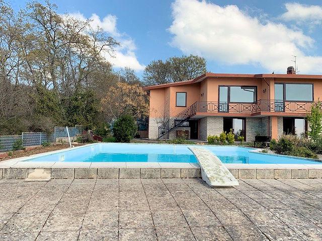 1003-Villa bifamiliare con piscina e vista lago-Bolsena-6 Agenzia Immobiliare ASIP