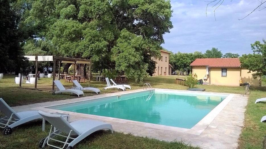 1031-Casale con dependance parco e piscina-Roccastrada-2 Agenzia Immobiliare ASIP