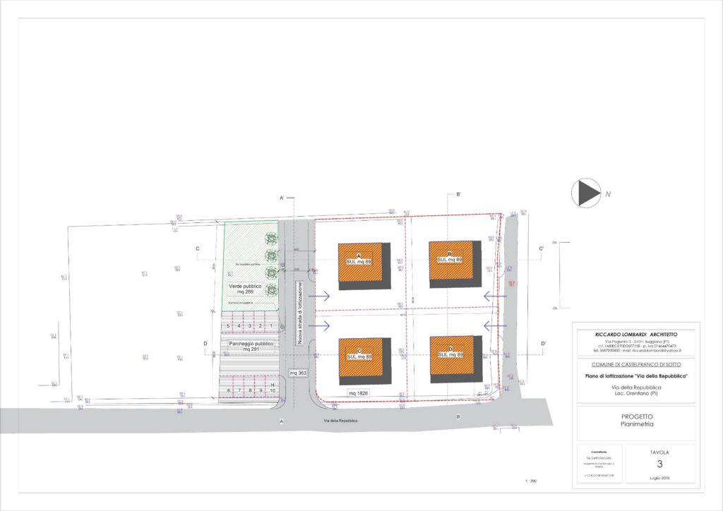 1045 Villetta singola di nuova costruzione Castelfranco di Sotto planimetria_14 Agenzia Immobiliare ASIP