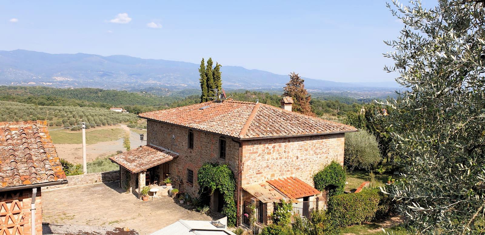 1030-Antico casale ristrutturato con vista panoramica-Figline e Incisa Valdarno-1 Agenzia Immobiliare ASIP