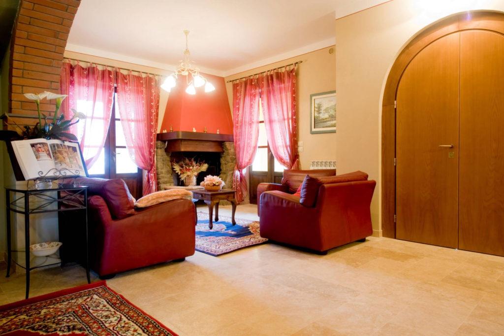 1095-Villa in collina con parco e piscina-Civitella in Val di Chiana-10 Agenzia Immobiliare ASIP