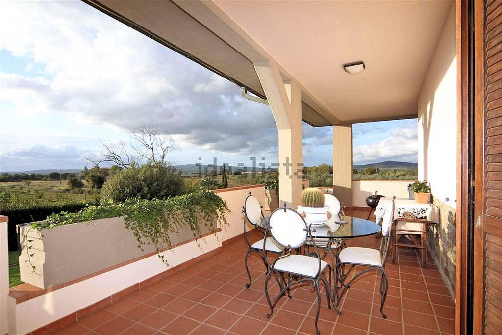 1097-Villa singola con giardino e vista panoramica-Scarlino-10 Agenzia Immobiliare ASIP