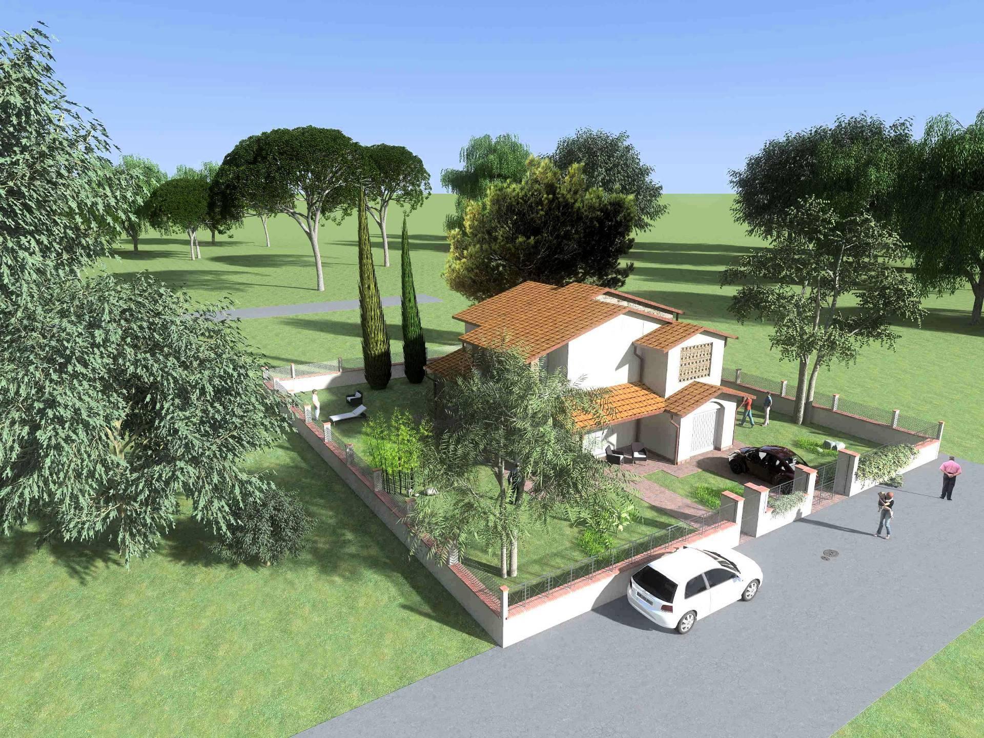 1094-Villetta unifamiliare con giardino-Porcari-1 Agenzia Immobiliare ASIP