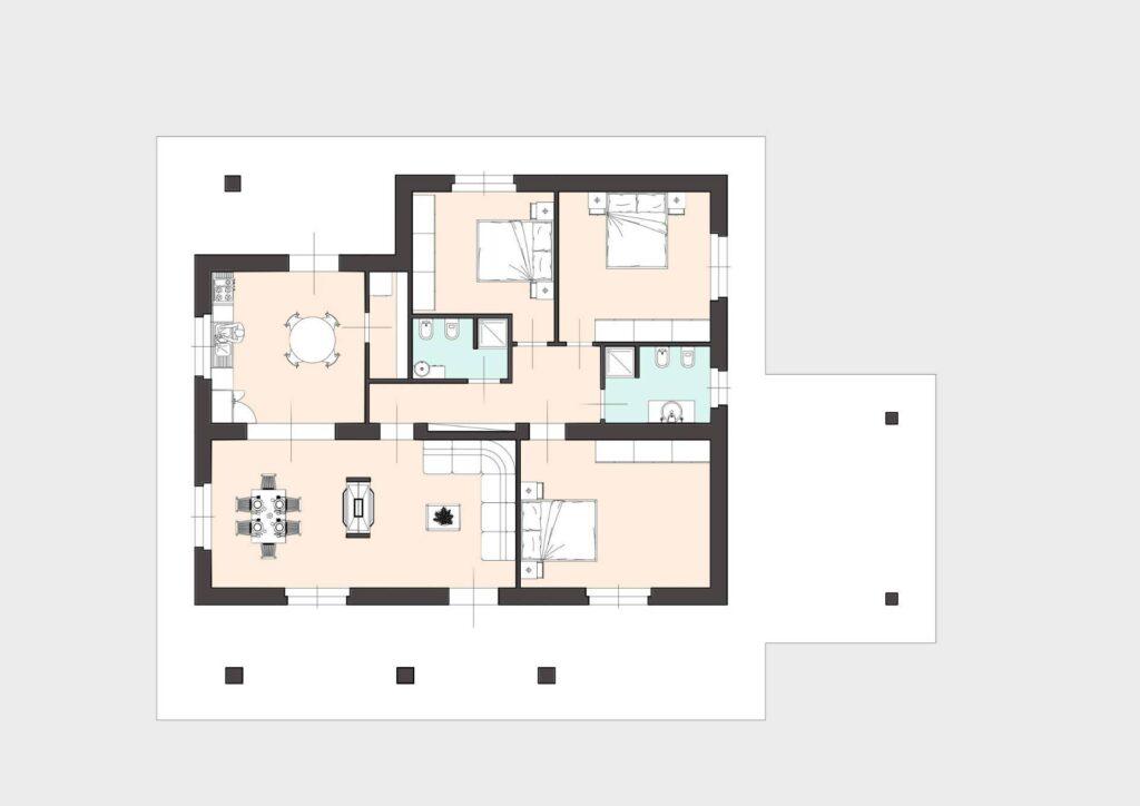 1171 Villetta unifamiliare con ampio giardino e vista panoramica Manciano planimetria_15 Agenzia Immobiliare ASIP