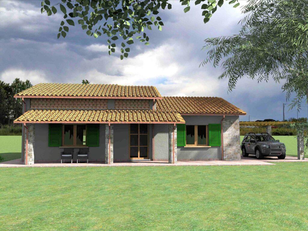 1171-Villetta unifamiliare con ampio giardino e vista panoramica-Manciano-7 Agenzia Immobiliare ASIP