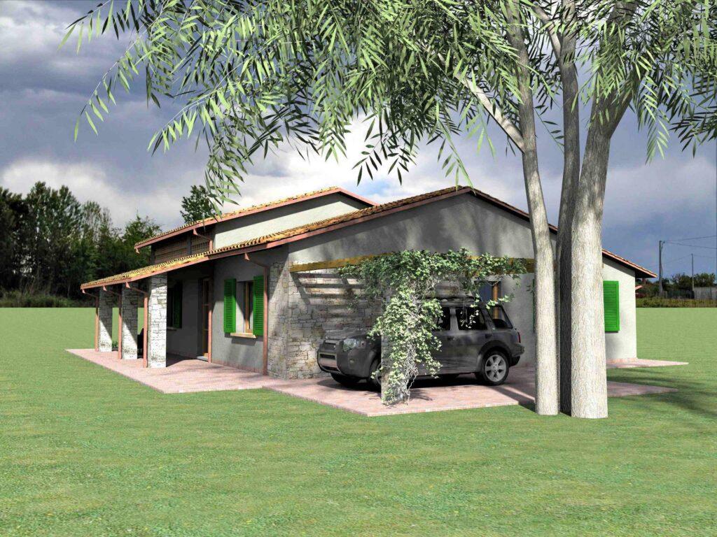 1171-Villetta unifamiliare con ampio giardino e vista panoramica-Manciano-3 Agenzia Immobiliare ASIP
