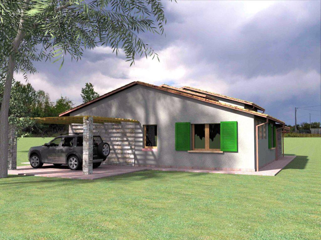 1171-Villetta unifamiliare con ampio giardino e vista panoramica-Manciano-6 Agenzia Immobiliare ASIP