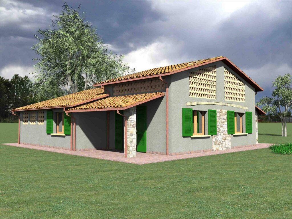 1171-Villetta unifamiliare con ampio giardino e vista panoramica-Manciano-5 Agenzia Immobiliare ASIP