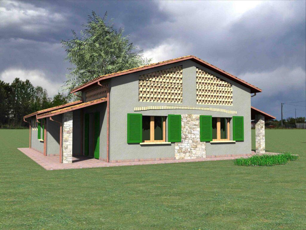 1171-Villetta unifamiliare con ampio giardino e vista panoramica-Manciano-10 Agenzia Immobiliare ASIP