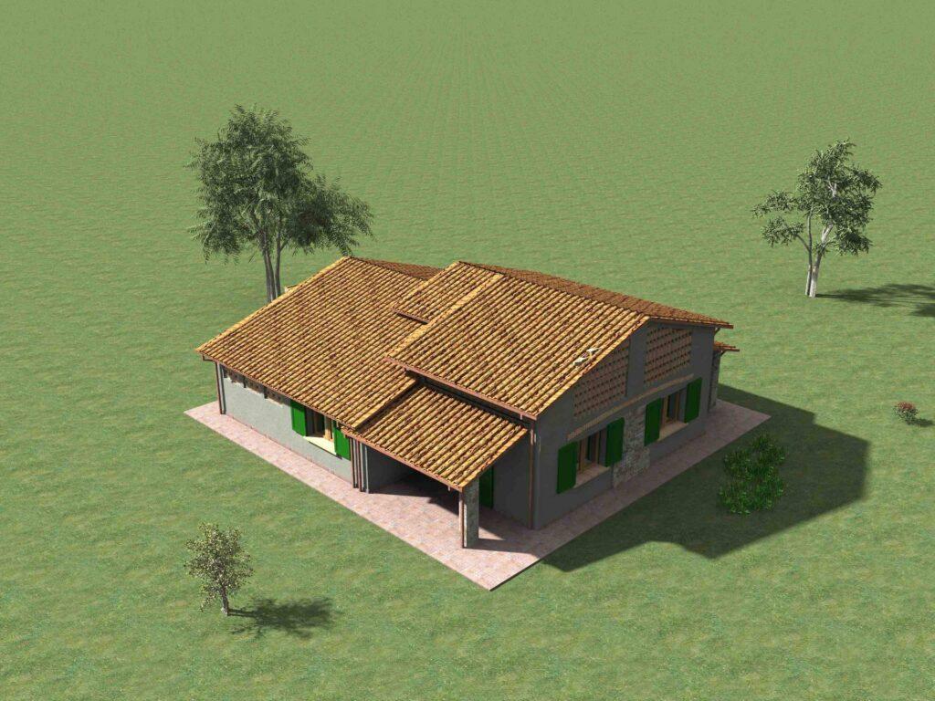 1171-Villetta unifamiliare con ampio giardino e vista panoramica-Manciano-11 Agenzia Immobiliare ASIP