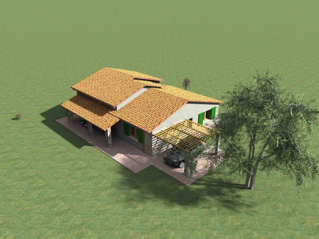 1171-Villetta unifamiliare con ampio giardino e vista panoramica-Manciano-4 Agenzia Immobiliare ASIP