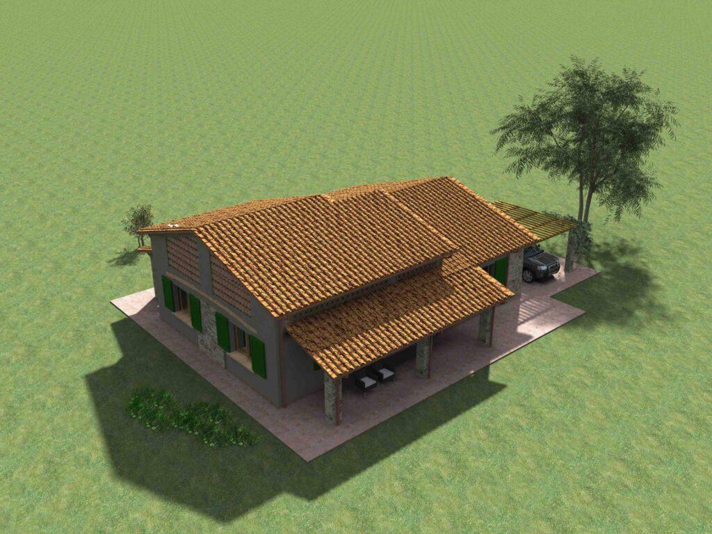 1171-Villetta unifamiliare con ampio giardino e vista panoramica-Manciano-14 Agenzia Immobiliare ASIP