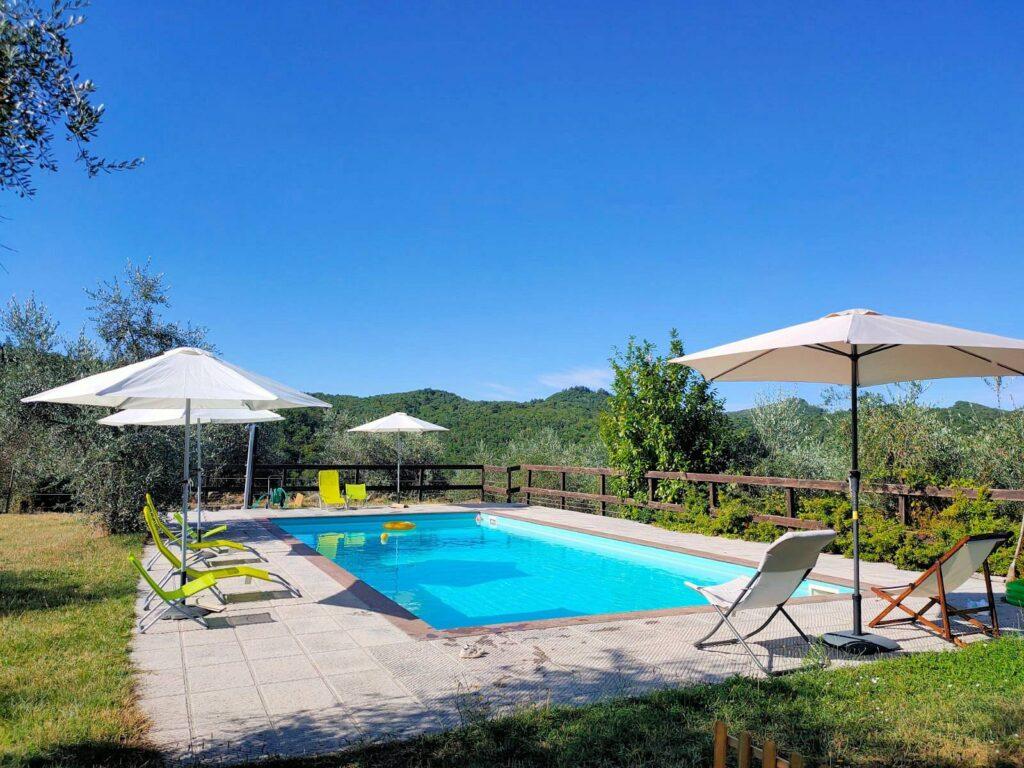 1211-Rustico con piscina e vista panoramica-Cavriglia-2 Agenzia Immobiliare ASIP