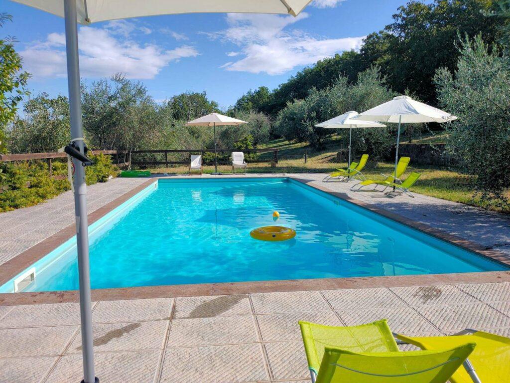 1211-Rustico con piscina e vista panoramica-Cavriglia-4 Agenzia Immobiliare ASIP