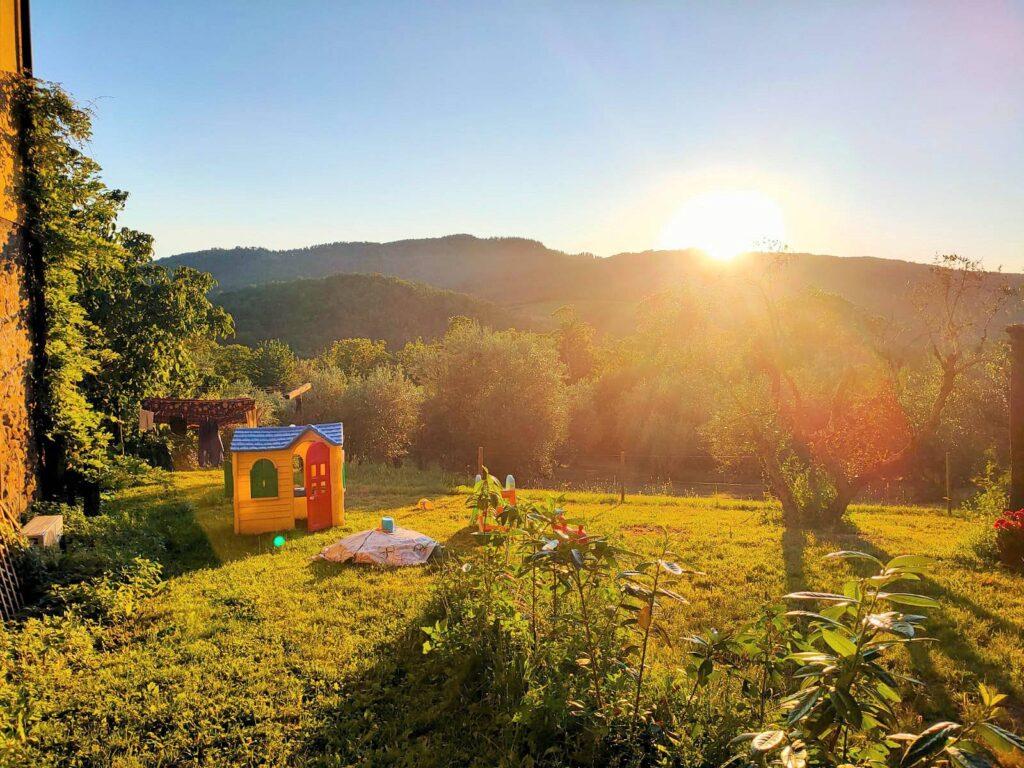 1211-Rustico con piscina e vista panoramica-Cavriglia-8 Agenzia Immobiliare ASIP