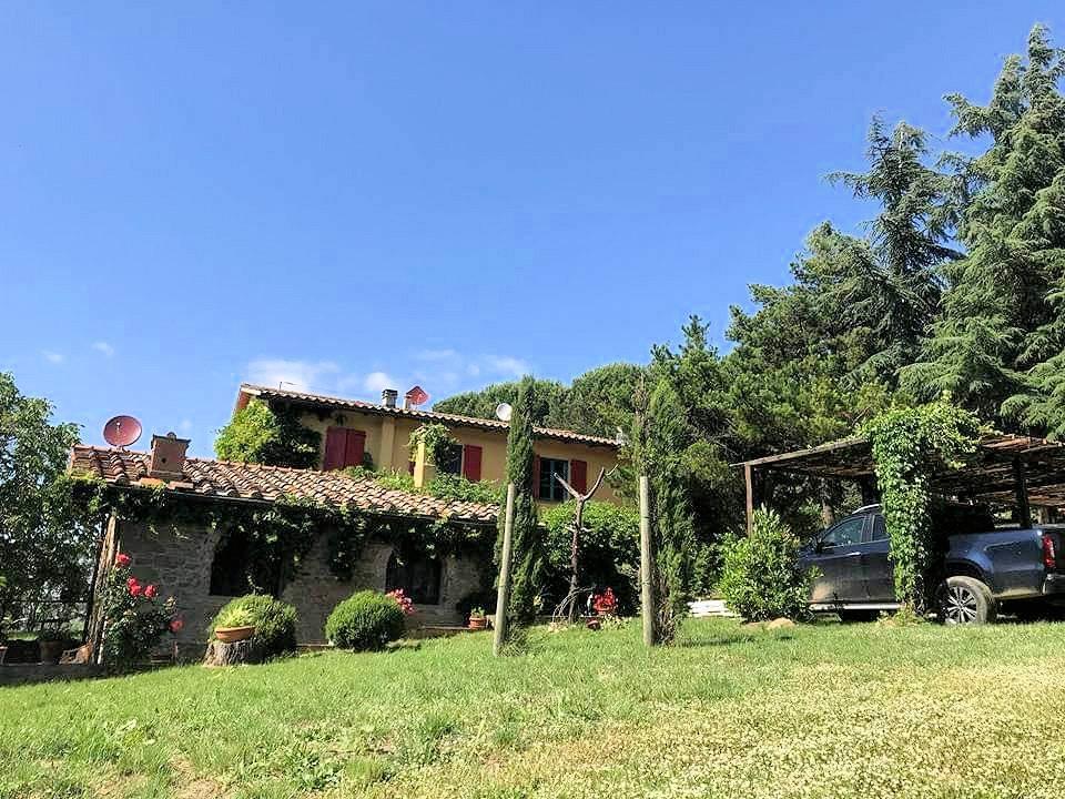 1211-Rustico con piscina e vista panoramica-Cavriglia-1 Agenzia Immobiliare ASIP