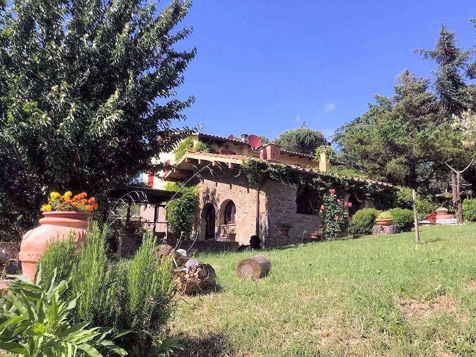 1211-Rustico con piscina e vista panoramica-Cavriglia-3 Agenzia Immobiliare ASIP