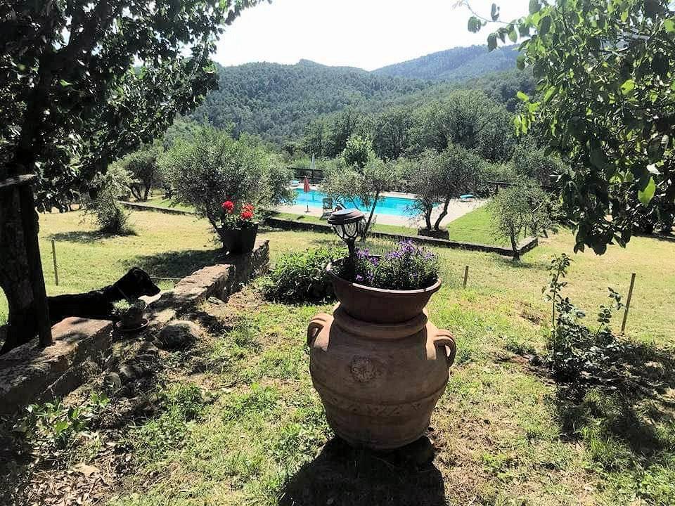 1211-Rustico con piscina e vista panoramica-Cavriglia-6 Agenzia Immobiliare ASIP