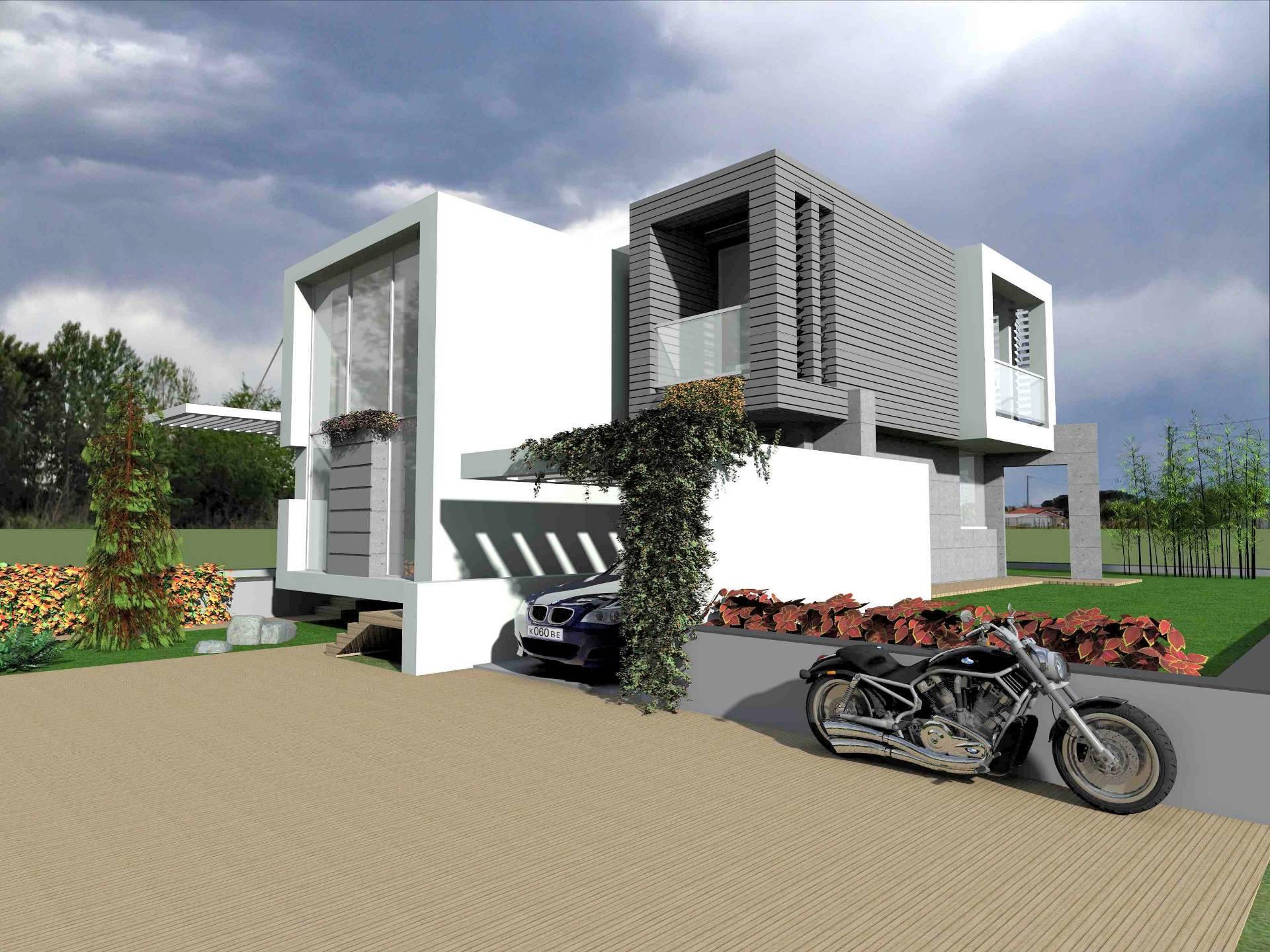 1228-Villetta singola in stile moderno da realizzare-Chiesina Uzzanese-1 Agenzia Immobiliare ASIP