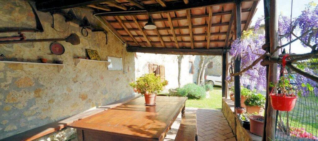 1241-Porzione di casolare con fienile oliveto e vigneto-Murlo-5 Agenzia Immobiliare ASIP