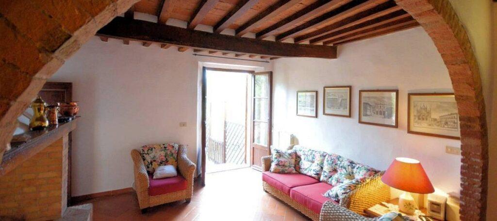1241-Porzione di casolare con fienile oliveto e vigneto-Murlo-11 Agenzia Immobiliare ASIP