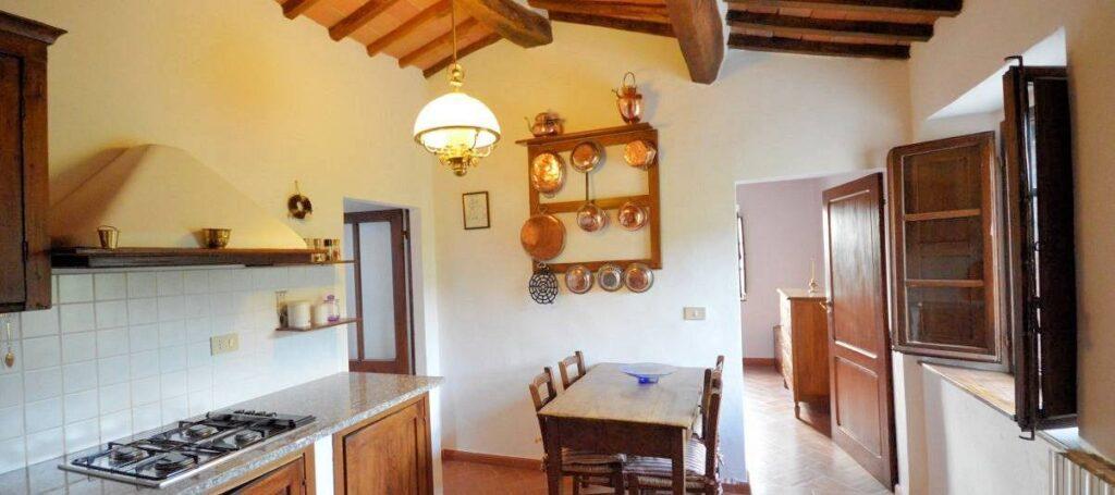1241-Porzione di casolare con fienile oliveto e vigneto-Murlo-10 Agenzia Immobiliare ASIP
