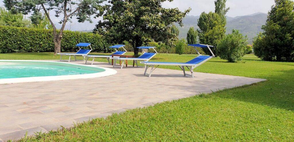 1248-Villa prestigiosa con parco e piscina-Pietrasanta-7 Agenzia Immobiliare ASIP