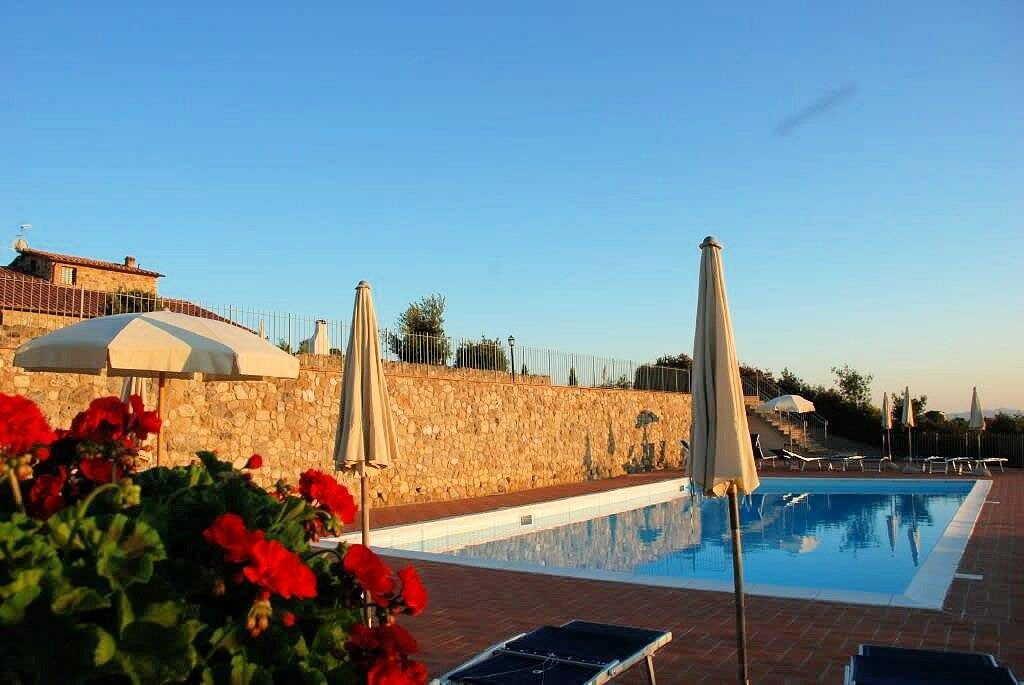 1249-Bellissima casa vacanze con parco e piscina in zona panoramica-Volterra-9 Agenzia Immobiliare ASIP
