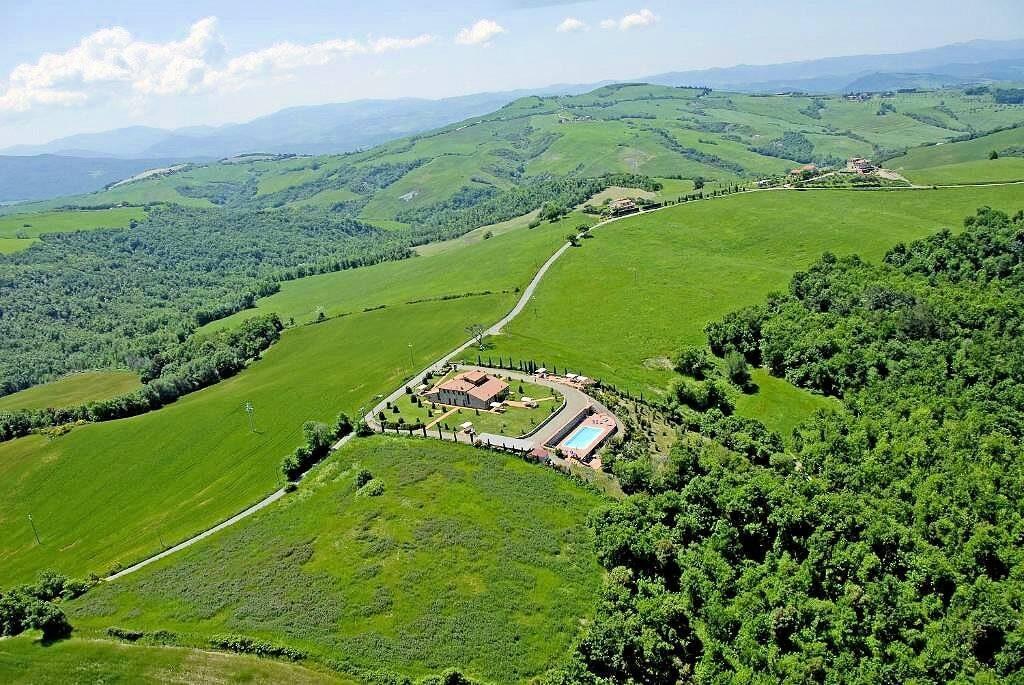 1249-Bellissima casa vacanze con parco e piscina in zona panoramica-Volterra-7 Agenzia Immobiliare ASIP