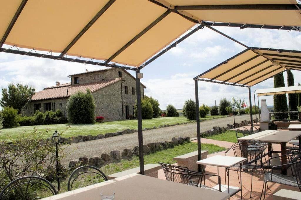 1249-Bellissima casa vacanze con parco e piscina in zona panoramica-Volterra-12 Agenzia Immobiliare ASIP