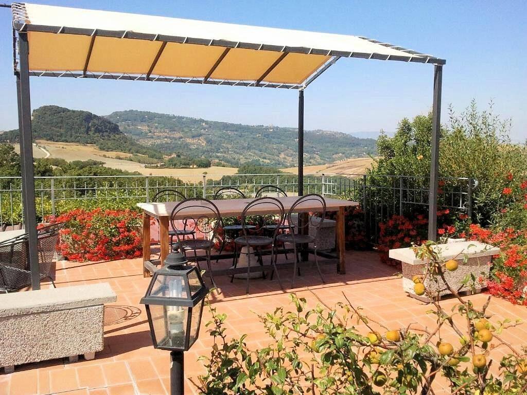 1249-Bellissima casa vacanze con parco e piscina in zona panoramica-Volterra-14 Agenzia Immobiliare ASIP
