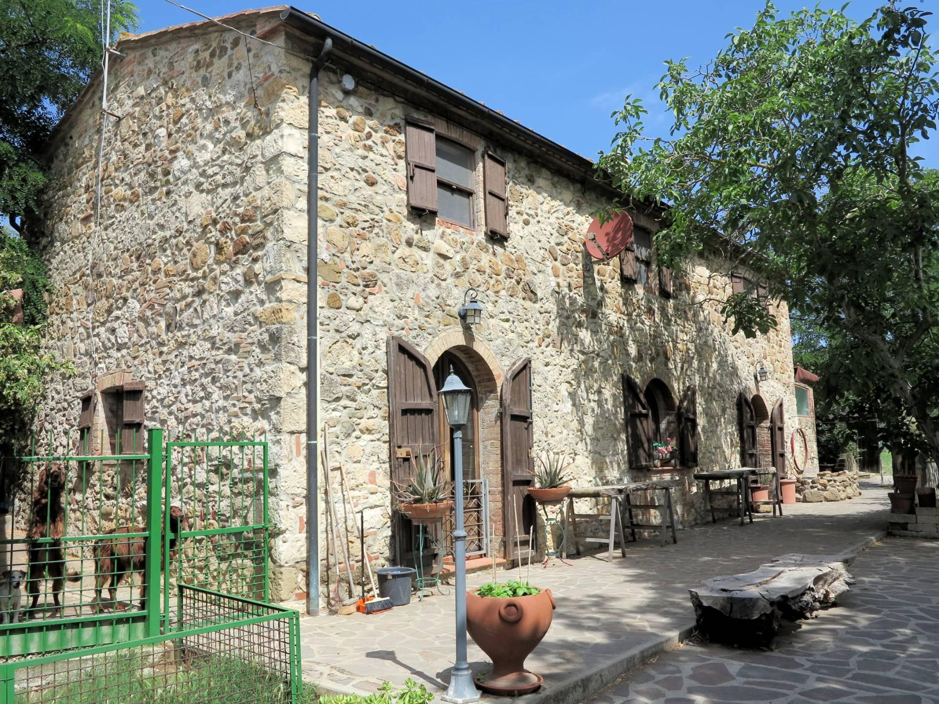 1262-Rustico in stile Toscano con terreno in splendida posizione-Monterotondo Marittimo-1 Agenzia Immobiliare ASIP
