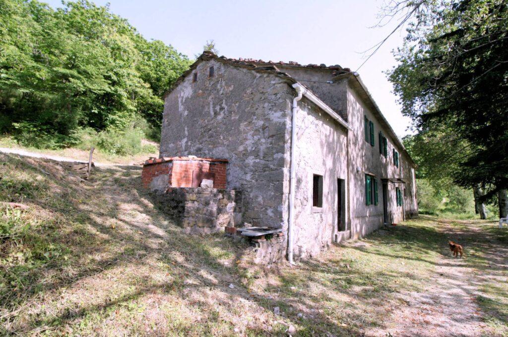 1266-Rustico di ampia superficie da ristrutturare con terreno-San Marcello Piteglio-13 Agenzia Immobiliare ASIP