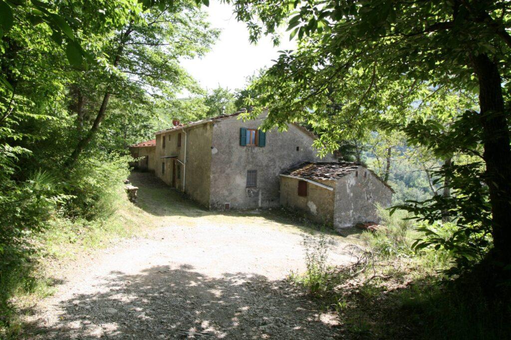 1266-Rustico di ampia superficie da ristrutturare con terreno-San Marcello Piteglio-9 Agenzia Immobiliare ASIP