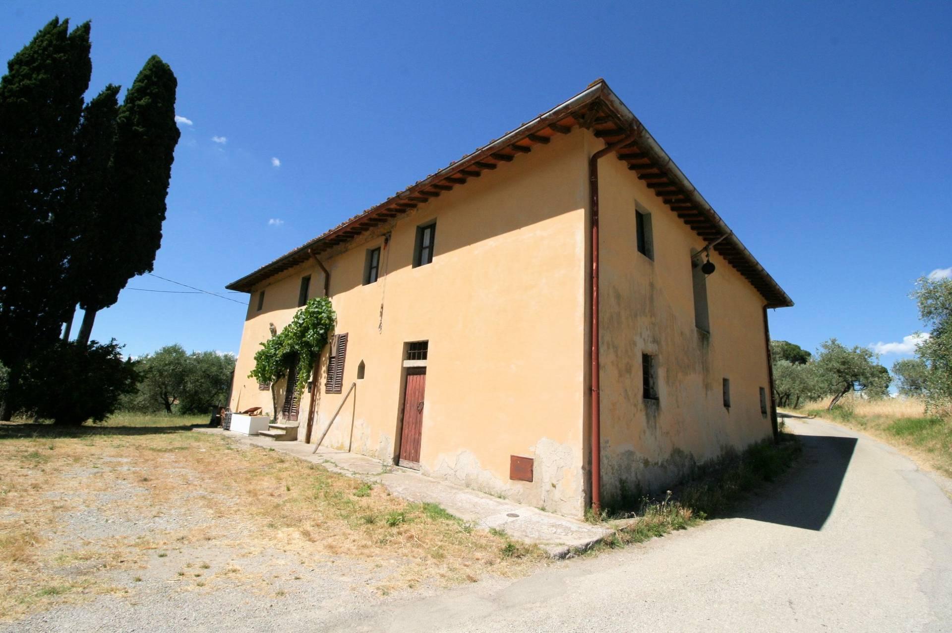 1269-Casa indipendente da ristrutturare con ampio uliveto-Quarrata-1 Agenzia Immobiliare ASIP
