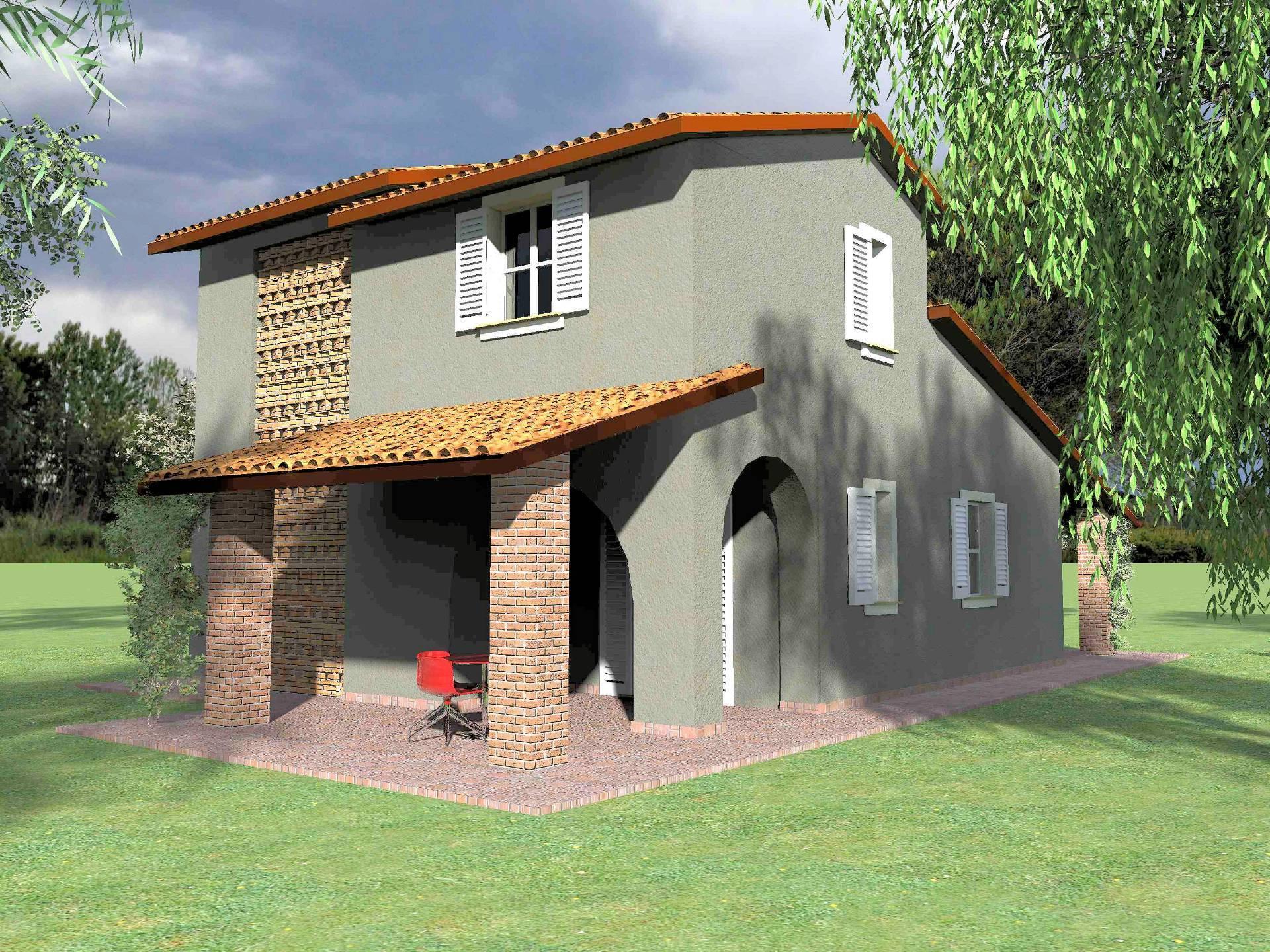 1207-Villa unifamiliare di prossima realizzazione con ampio giardino-Fucecchio-1 Agenzia Immobiliare ASIP